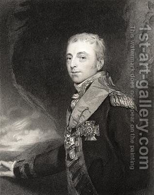 Alan Hyde Gardner by (after) Lawrence, Sir Thomas - Reproduction Oil Painting