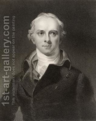 Samuel Lysons 1763-1819 by (after) Lawrence, Sir Thomas - Reproduction Oil Painting