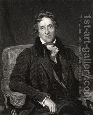 Sir John Soane by (after) Lawrence, Sir Thomas - Reproduction Oil Painting