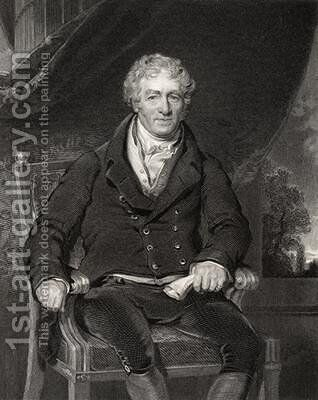 Sir Robert Peel by (after) Lawrence, Sir Thomas - Reproduction Oil Painting