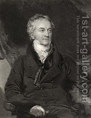 Thomas Young by (after) Lawrence, Sir Thomas - Reproduction Oil Painting
