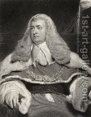 Edward Law by (after) Lawrence, Sir Thomas - Reproduction Oil Painting