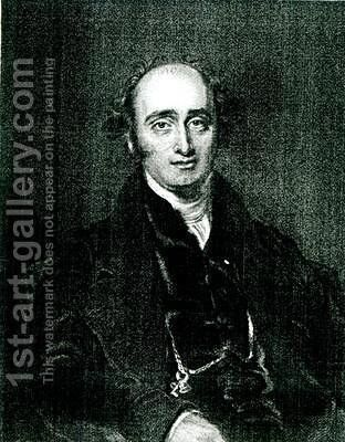 The Rt Hon John Wilson Croker by (after) Lawrence, Sir Thomas - Reproduction Oil Painting