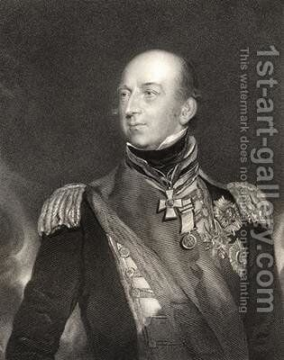 Sir Edward Codrington by (after) Lawrence, Sir Thomas - Reproduction Oil Painting