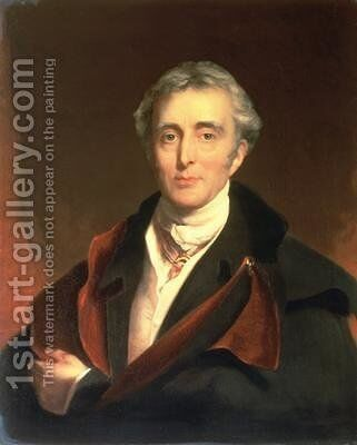 Portrait of the Duke of Wellington by (after) Lawrence, Sir Thomas - Reproduction Oil Painting