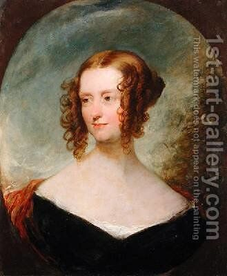 Portrait of a Young Woman by (after) Lawrence, Sir Thomas - Reproduction Oil Painting