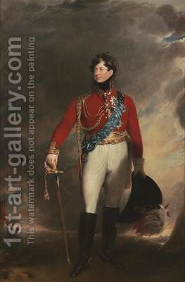Portrait of King George IV 2 by (after) Lawrence, Sir Thomas - Reproduction Oil Painting