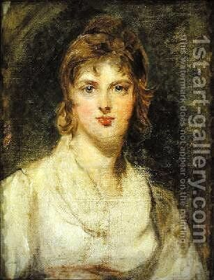 Margarette Wilkes by Sir Thomas Lawrence - Reproduction Oil Painting