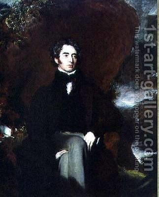 Portrait of Robert Southey 1774-1843 English poet and man of letters by Sir Thomas Lawrence - Reproduction Oil Painting
