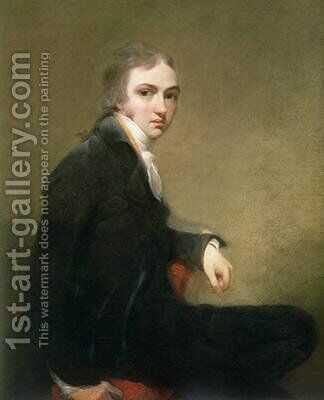 Self Portrait 2 by Sir Thomas Lawrence - Reproduction Oil Painting