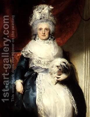 Susanna Archer Countess of Oxford 1769-1830 by Sir Thomas Lawrence - Reproduction Oil Painting