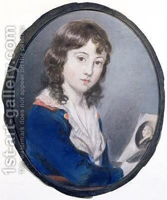 Self Portrait 3 by Sir Thomas Lawrence - Reproduction Oil Painting