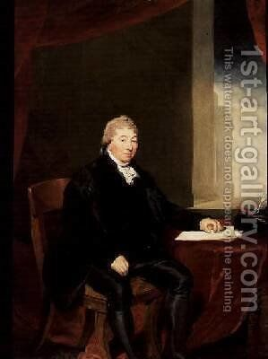 Portrait of Sir Robert Wigram by Sir Thomas Lawrence - Reproduction Oil Painting