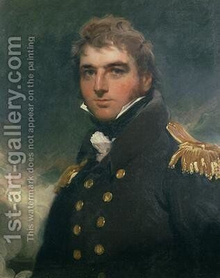 Portrait of Admiral Sir Charles Paget by Sir Thomas Lawrence - Reproduction Oil Painting