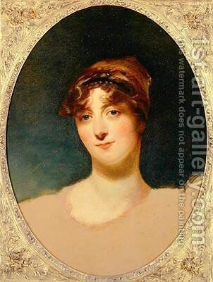 Viscountess Caroline Sydney by Sir Thomas Lawrence - Reproduction Oil Painting