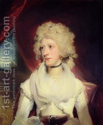 Portrait of Miss Martha Carr by Sir Thomas Lawrence - Reproduction Oil Painting