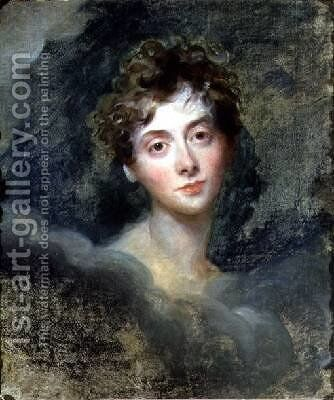 Portrait of Lady Caroline Lamb 1785-1828 by Sir Thomas Lawrence - Reproduction Oil Painting