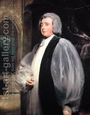 Dr John Moore 1730-1805 Archbishop of Canterbury by Sir Thomas Lawrence - Reproduction Oil Painting