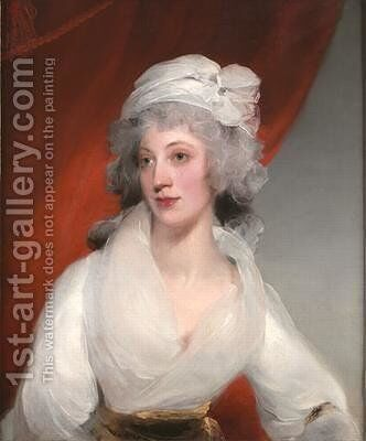 Portrait of Margaret Bewicke by Sir Thomas Lawrence - Reproduction Oil Painting