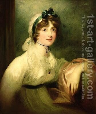 Diana Sturt later Lady Milner by Sir Thomas Lawrence - Reproduction Oil Painting