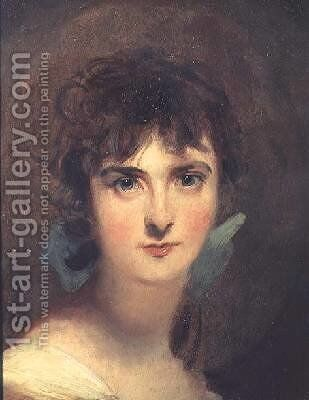 Portrait of Sally Siddons 1775-1803 by Sir Thomas Lawrence - Reproduction Oil Painting