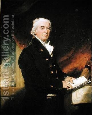Captain Joseph Cotton 1745-1825 by Sir Thomas Lawrence - Reproduction Oil Painting