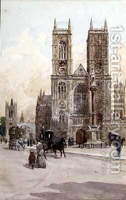 At Westminster by Charles James Lauder - Reproduction Oil Painting
