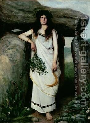 The Druidess by Armand Laroche - Reproduction Oil Painting