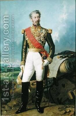 Adolphe Niel 1802-69 by Charles-Philippe Lariviere - Reproduction Oil Painting