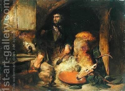The Savage by Sir Edwin Henry Landseer - Reproduction Oil Painting