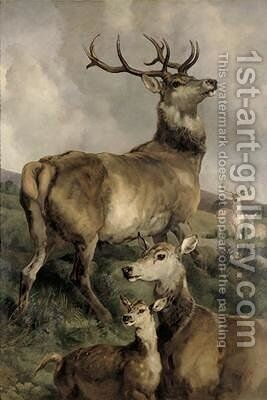 The Noble Beast by Sir Edwin Henry Landseer - Reproduction Oil Painting