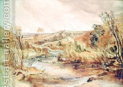 Landscape by Sir Edwin Henry Landseer - Reproduction Oil Painting
