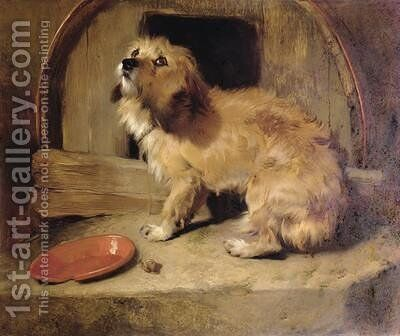 Theres No Place Like Home by Sir Edwin Henry Landseer - Reproduction Oil Painting