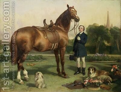 Prosperity by Sir Edwin Henry Landseer - Reproduction Oil Painting