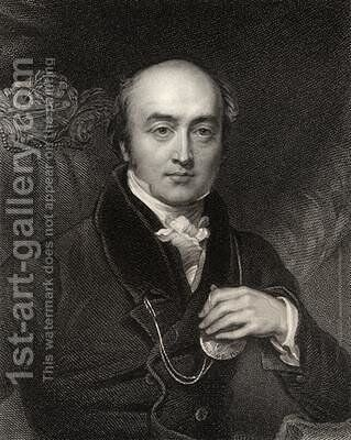 Sir Thomas Lawrence by Charles Landseer - Reproduction Oil Painting