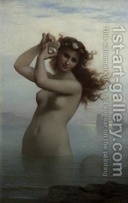 The Siren by Charles Landelle - Reproduction Oil Painting