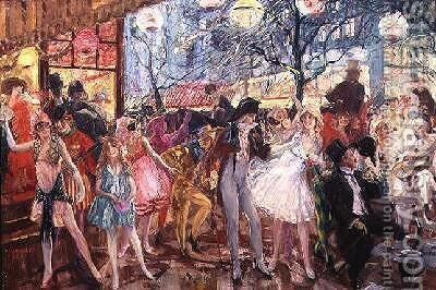 Carnival by Camille Nicolas Lambert - Reproduction Oil Painting