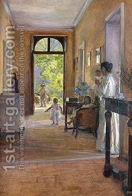 Morning Joy by Alexis-Marie Lahaye - Reproduction Oil Painting