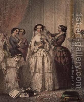 The Bride by (after) Lafon, Henri - Reproduction Oil Painting