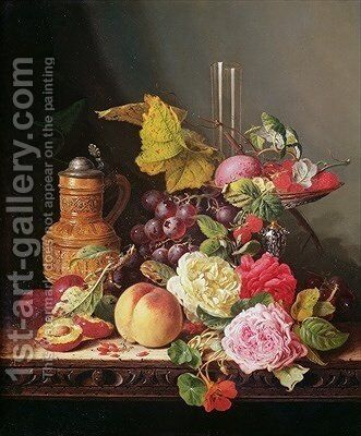 Still Life 2 by Edward Ladell - Reproduction Oil Painting