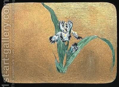 Iris by Christopher Grant La Farge - Reproduction Oil Painting