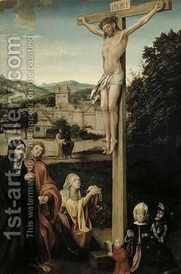 The Crucifixion by Hans Suess Kulmbach - Reproduction Oil Painting