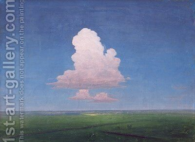 A Small Cloud by Arkip Ivanovic Kuindzi - Reproduction Oil Painting