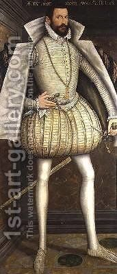 Portrait of Ladislav III Baron Lobkowicz by Hans Krell - Reproduction Oil Painting