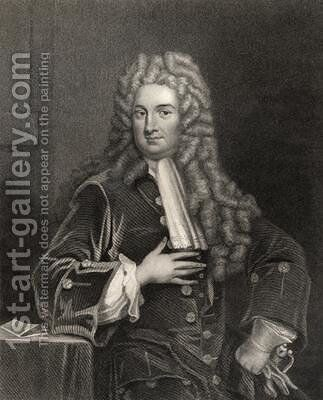 John Radcliffe by (after) Kneller, Sir Godfrey - Reproduction Oil Painting