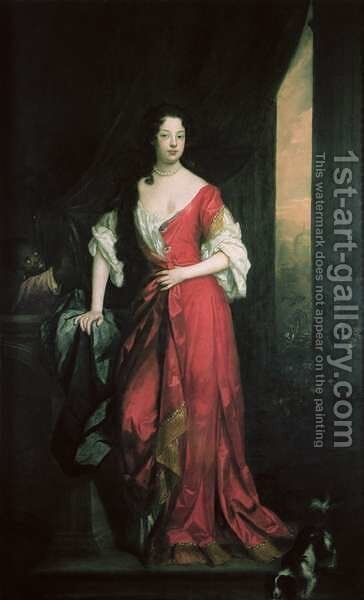 Louise de Keroualle 1649-1734 by Sir Godfrey Kneller - Reproduction Oil Painting
