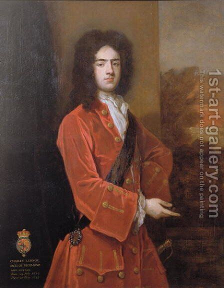 Charles Lennox by Sir Godfrey Kneller - Reproduction Oil Painting