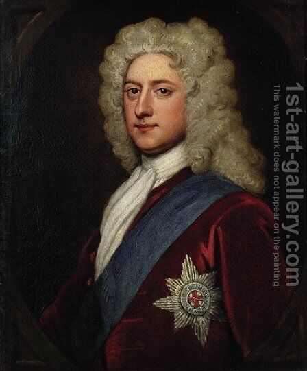 Henry Clinton 7th Earl of Lincoln by Sir Godfrey Kneller - Reproduction Oil Painting
