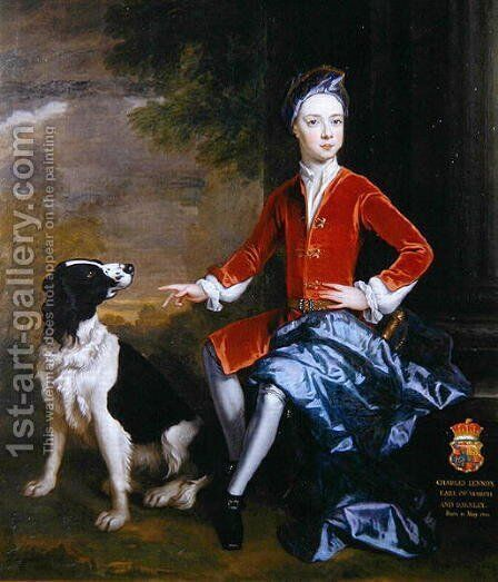 Charles Earl of March by Sir Godfrey Kneller - Reproduction Oil Painting