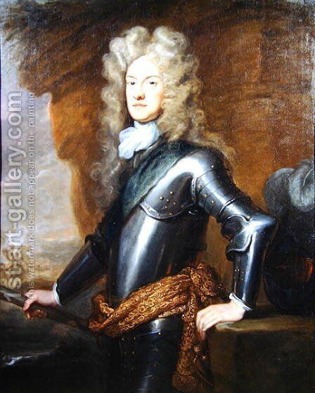 Portrait of James Butler 1665-1745 2nd Duke of Ormond by Sir Godfrey Kneller - Reproduction Oil Painting